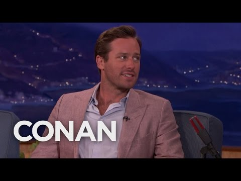 Armie Hammer Treats Road Trips Like Extreme Sports  – CONAN on TBS