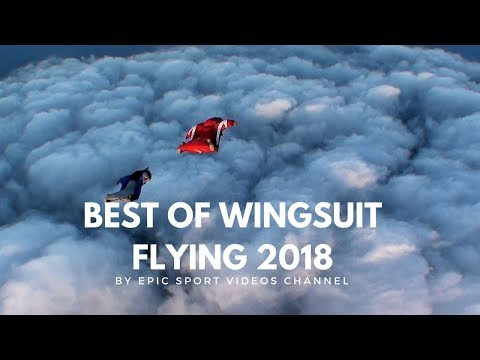 Wingsuit Extreme sport 2018
