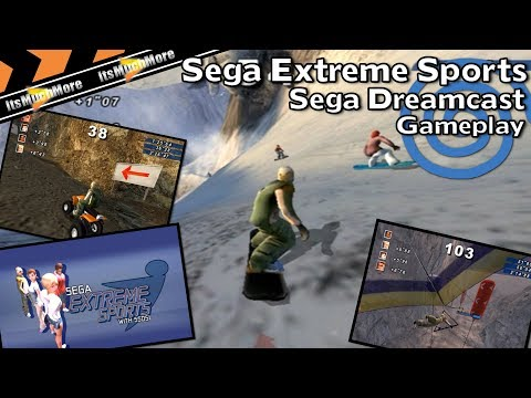 Sega Extreme Sports | Sega Dreamcast | Gameplay HD VGA