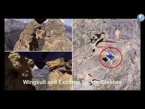 Wingsuit and Extreme Sports Crashes