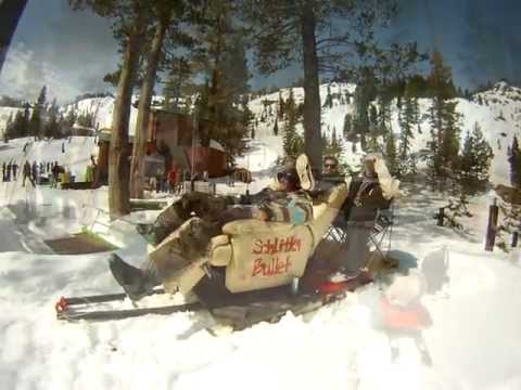 Red Bull Extreme Sports Presents, Alpine Meadows Schlittentag 2012!