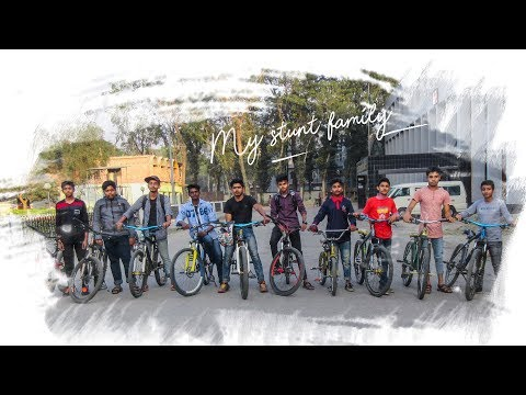 MY STUNT FAMILY || EXTREME SPORTS ||CYCLE STUNT BANGLADESH |CRAZY STUNT