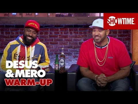 Trying White People Sports & Fake Moon Landing Anniversary | DESUS & MERO | SHOWTIME
