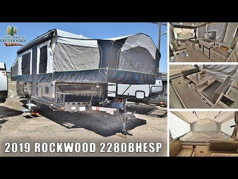 New 2019 Off Road Pop Up ROCKWOOD 2280BHESP Extreme Sports Package Camper RV Colorado Dealer