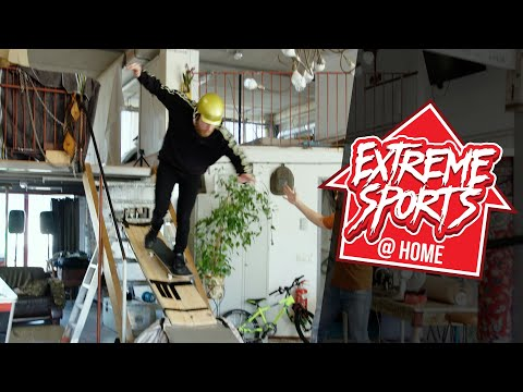 EXTREME SPORTS @ HOME: SKATEBOARDEN