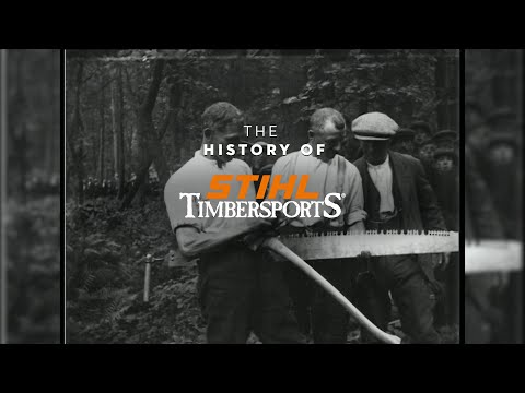 The Original Extreme Sport – the History of TIMBERSPORTS®