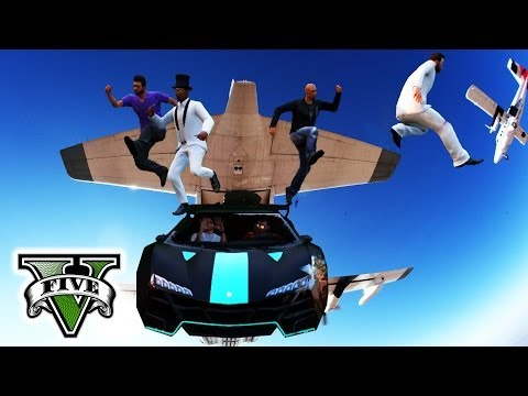GTA 5 Online EXTREME STUNTS & FAILS | GTA Extreme Sports