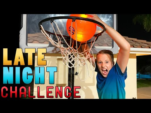 EXTREME SPORTS CHALLENGES AT NIGHT!