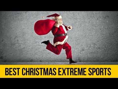 EXTREME SANTA CLAUS • Christmas extreme sports compilation