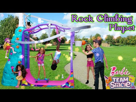 Barbie Team Stacie: Extreme Sports | Rock Climbing | Articulated Stacie