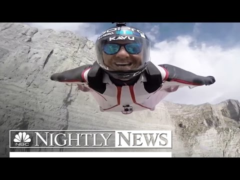 Wingsuit Base Jumping: The New High of Extreme Sports | NBC Nightly News