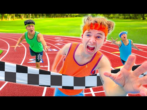 Extreme OLYMPICS IN REAL LIFE Challenge!