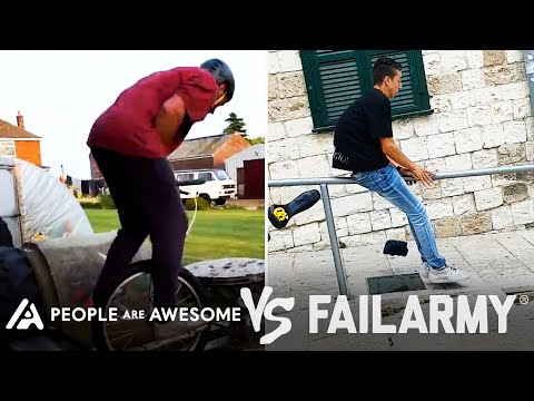 Wins Vs. Fails & More!   People Are Awesome Vs. FailArmy